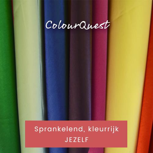 ColourQuest | Sprankelend, kleurrijk jezelf