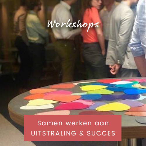 Workshops | Samen werken aan uitstraling & succes